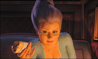 Quelle fée, redoutable femme d'affaires, va tout faire pour que Fiona quitte un ogre dans le but de la marier avec son fils : prince Charmant ?