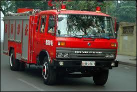 Et ce véhicule équipe les pompiers de :