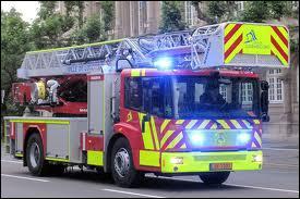 Un véhicule des pompiers du :