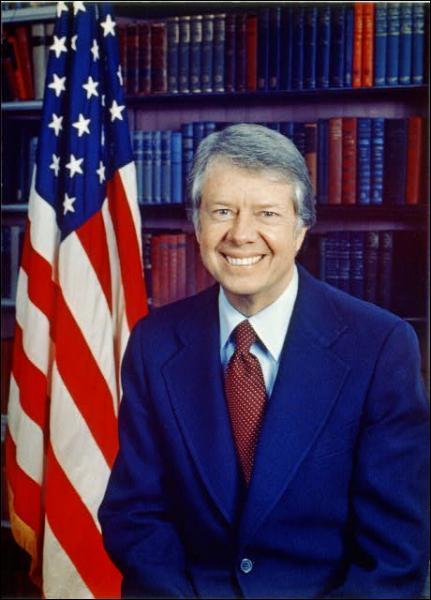Quel président américain lance dans les années 70 une campagne politique mettant en avant le respect des droits de l'Homme ?