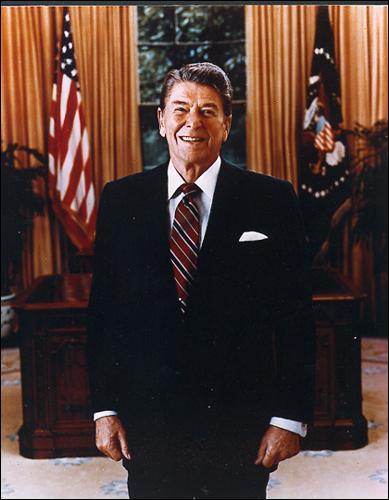 Comment le président Reagan va t-il surnommer l'Union Soviétique au début des années 80 ?