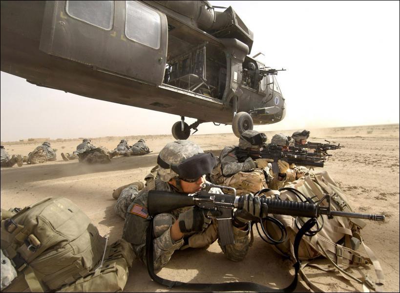 Depuis 1989 dans quel pays les Etats-Unis ne sont ils pas intervenus militairement ?