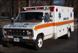 Ce modèle transporte blessés et malades aux ... .