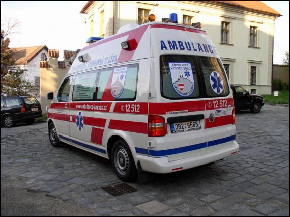 Ce modèle est une ambulance... .