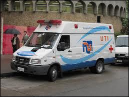 Une ambulance Sud Américaine du... .
