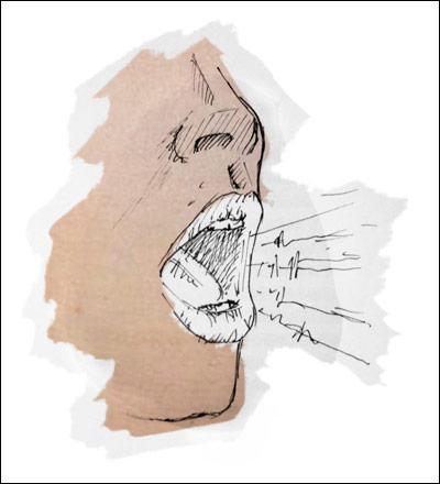 Quel organe creux, situé entre le pharynx et la trachée, est le principal instrument de la voix ?