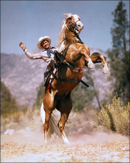 ''Trigger'' le cheval le plus célèbre et le plus intelligent du cinéma hollywoodien avait pour cavalier :