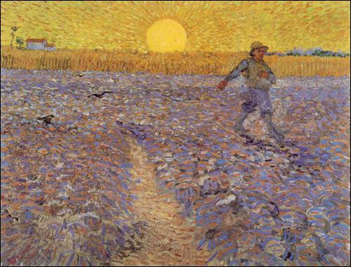 Est-ce Van Gogh qui a peint Le semeur au soleil couchant ?