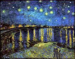 Nuit étoilée sur le Rhône :