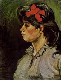 Femme avec le ruban rouge :