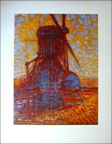 Moulin au soleil :