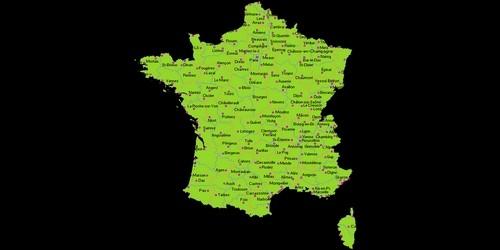 A quelle forme géométrique compare-t-on la France ?