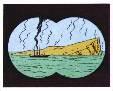 L'Etoile mystérieuse : Comment se nomme le bateau dans lequel Tintin embarque pour les mers Arctiques ?