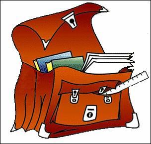____ prépares ton sac pour aller à l'école.