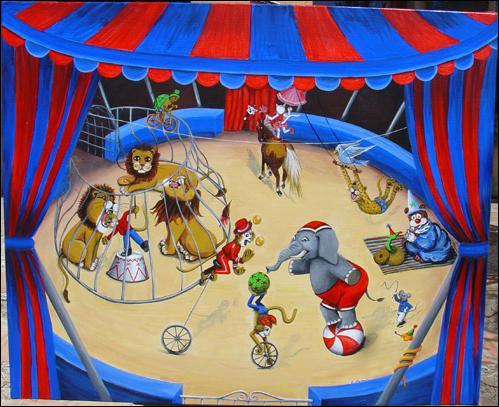 Bientôt, le cirque va venir.