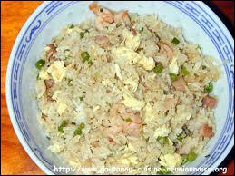 C'est le riz... .