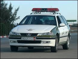 Break 406 Peugeot de la Garde Nationale en...