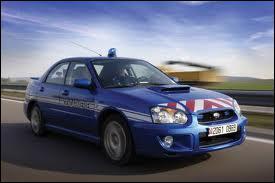 Et enfin la Subaru impreza WRX équipant la gendarmerie depuis 2006 en ...