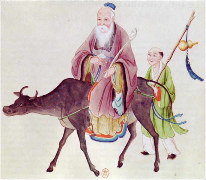 Ce sage qui a vécu vers -500 est le fondateur du taoïsme. Il insiste sur la complémentarité entre le vide et le plein. Qui est-ce ?
