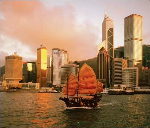 Que signifie en chinois le nom Hong Kong ?