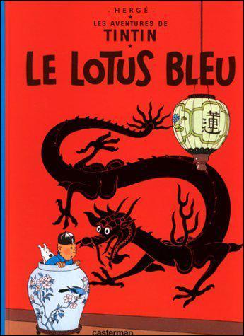 Dans quelle ville se passe la BD Tintin 'Le lotus bleu' ?