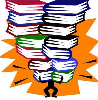 _______________, j'ai recouvert mes livres.