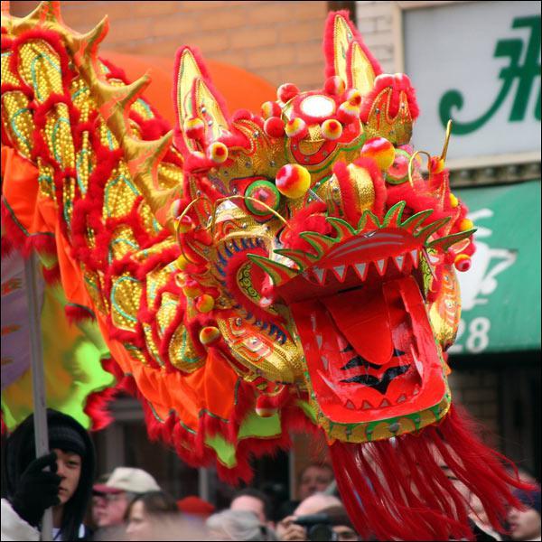 Que symbolise le dragon dans la tradition chinoise ?