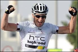 Vainqueur du tour du Qatar 2011... .