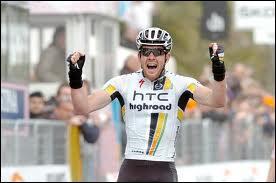 Premier australien vainqueur de Milan-San Remo en 2011... .