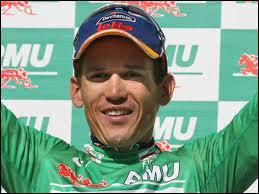Premier australien maillot vert du tour de France en 2003 ... .