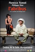 Dans la pièce 'L'abribus', comment s'appelle son personnage ?