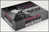 On peut acheter sa Mother Fucker Box qui contient le DVD du spectacle, un sac en coton bio, un carnet de bord et ...