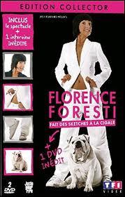 Dans 'Florence Foresti fait des sketches à la Cigale', quel est le sketch de rappel ?