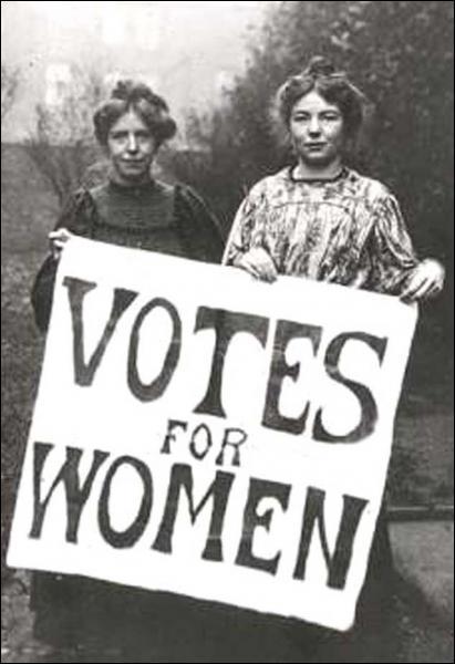 Quand les femmes britanniques ont-elles eu le droit de vote ?