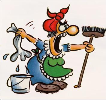 Il n'est plus ________ que je me fatigue toute seule à nettoyer !