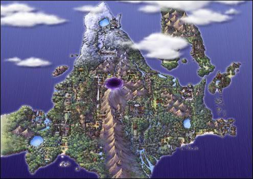 Lequel de ces mondes n'existe pas dans Pokemon ?