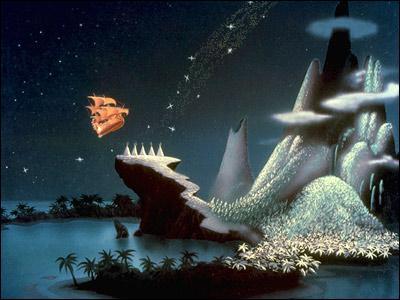 Quel personnage vit dans Neverland ?