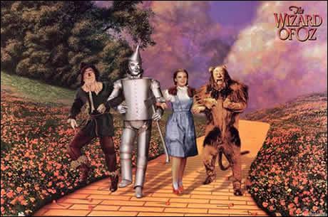 Comment s'appelle l'héroïne naviguant dans le monde imaginaire d'Oz ?