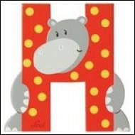 Dans l'alphabet, L est _____ H.