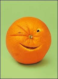 Une petite orange enceinte ne sait comment l'annoncer à sa mère...
