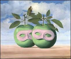 Quel est le nom de cette oeuvre de René Magritte ?