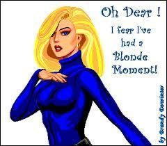 Qu'est-ce qu'une blonde avec son matelas sous le bras ?