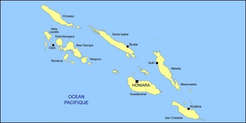Quelle est la capitale des îles Salomon ?