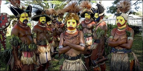 Où vivent les Papous ?
