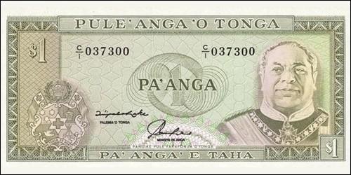 Dans quel royaume, très entiché de rugby, un pa'anga vaut-il 100 seniti ?