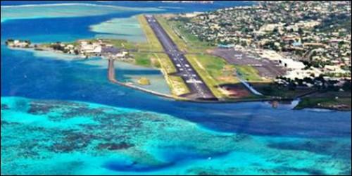 De quelle ville de l'Océanie Faa'a est l'aéroport ?