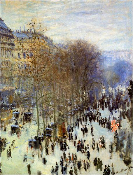 Ce tableau s'appelle 'Le boulevard ... ... '