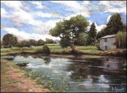 Dans quel village du marais a lieu tous les ans un festival de peinture ?