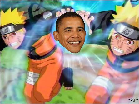 Qui est dans L'OBAMA Rasengan de Naruto ? (gros indice)