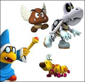 Combien de ces 4 personnages sont des boss dans le jeu Mario Party DS ?
